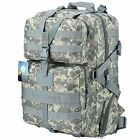 Large Military Tactical Backpack Army Water-resistant Rucksacks Molle Gear Bag