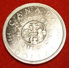 1964 CANADA DOLLAR AU+ 80% SILVER GREAT COLLECTOR COIN GIFT CAD08