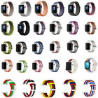 New Woven Nylon Wrist Band Strap Bracelet For Apple Watch iWatch Series 38 42mm