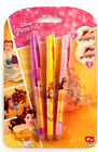 3x  DISNEY Geldstift Ausradierbar Princess Disney Car Frozen Gelmalstifte