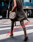 Wpmen's Sexy Suede Slouch Over Knee High Boots Thigh High Leg Boots Dress Boots