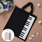 NEW Fashion Black Piano Keys Music Handbag Tote Bag Shopping Bag Handbag Purses