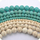 Wholesale Natural Gemstone Turquoise Round Spacer Loose Beads 6mm 8mm 10mm