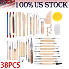 Clay Tools Ball Stylus Dotting Art Tools Sculpting Pottery Modeling Set US Stock image