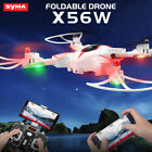 Syma X56W 2.4G Foldable Design Drone Camera WIFI FPV RC Quadcopter +3 Battery US