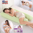 Soft Full Body UShape Pregnancy Comfy Maternity Multiuse Sleep Pillow Case Women image