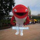 Chracter Red Dolphin Mascot Costume Adult fancy dress any size colo Professional