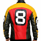 Puddy's Patrick Warburton 8 Ball Leather Jacket