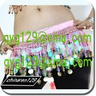 sale! HAND MADE BELLY DANCE HIP SCARF GOLD COINS