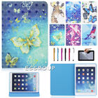 3D Patterned Flip Leather Smart Cover Stand Case For Apple iPad Mni 1/2/3/4 7.9""