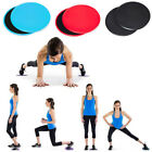 1 Pair Fitness Gliders Core Sliders Workout Gym Exercise Training Slide Discs Br