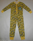 PRIMARK GIRLS or BOYS unisex KIDS ALL IN ONE SLEEP SUIT COTTON PYJAMAS  ages 4-5