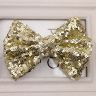 Baby Girl Sequin Fashion Handmade Hair Bow With Clip For Girls Accessories Hot