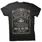 Gettin' Old Pissy And Cranky - Est. 1987 - 31st Birthday Gift T-shirt - 002-
