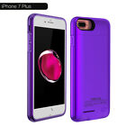 2 in 1 Magnetic Back Power Bank Pack Battery Charger Case For iPhone X 7 8 Plus