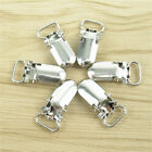 10/20Pcs Insert Pacifier Metal Holder Suspender Clips Mitten For  DIY Craft 10mm