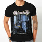 New 1ENTOMBED LEFT HAND PATH Clothing Casual T-Shirt Tee Summer Wear
