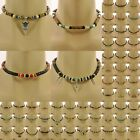 Surfer Style Bead Necklace boho beaded choker mens ladies womens boys jewellery