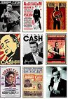 JOHNNY CASH  POSTER JUMBO FRIDGE MAGNETS ACRYLIC OR FLAT FLEXIBLE CHRISTMAS NEW