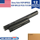Battery for Sony VAIO VPC-EA1 VPC-EB VPC-EE VGP-BPS22 VGP-BPS22A Fit Win7 NO CD