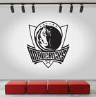 Dallas Mavericks Logo Wall Decal NBA Sport Sticker Decor Black Vinyl CG466 on eBay