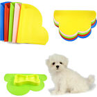 Dog Cat Cloud Shape Placemat Pet Dish Bowl Feeding Food Silicone Mat Wipe Clean