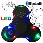 Fidget Spinner With LED Lights And Bluetooth Speaker Best Cool Up Double Sided