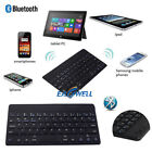 "Black 7"" Wireless Bluetooth Keyboard For IOS Android Windows 7"" 8"" 7.9"" Tablets"