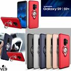 For Samsung S9 S9 plus Metal Bracket Ring Armor Phone Case Combo Car Magnetic