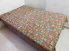 ATITHIHUBS Cotton Indian Kantha Bed Cover Handmade Reversible. 62
