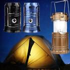 LED Solar Power Rechargeable Flashlight Camping Tent Light Torch Lantern Lamp ZH