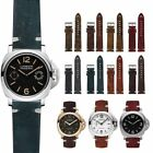 Strap Vintage Style Distressed Leather Women/Men Watch Band Strap with Stitching