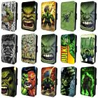 THE HULK MARVEL COMIC SUPERHERO FLIP PHONE CASE COVER for iPHONE 4 5 6 7 8 X
