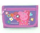 Peppa Pig Wallet for Girls Animated Cartoons Kids Wallets Trifold Coin Pocket