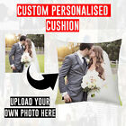UPLOAD YOUR OWN PHOTO IMAGE PERSONALISED CUSTOM SOFT CUSHION COVER PILLOW