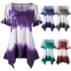 Summer Women Open Shoulder T-shirt Casual Blouse Tops Tunic Tee New Plus Size