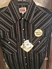 Western Shirt Ely Cattleman LONG Sleeve Striped Easy Care