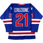 Mike Eruzione Hockey Jersey 1980 Miracle On Ice Team USA Sewn Hockey Jersey
