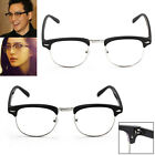 CLEAR LENS Clubmaster Glasses Novelty Mens Ladies Womens Fashion Vintage Unisex