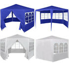 Hexagonal Garden Pop Up Tent Marquee Gazebo Cover Shelter Awning PE Waterproof