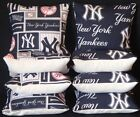 New York Yankees Set of 8 Stop and Go Cornhole Bean Bags FREE SHIPPING on Ebay