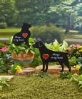 Pet Memorial Spinner Stakes Dog Cat Beloved Pets Grave Marker Head Stone Loved