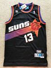 www.realhousewives of new jersey - NWT Steve Nash #13 Vintage Black NBA Phoenix Suns Throwback Jersey S-XXL