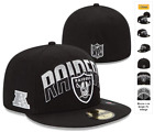 NEW ERA 59FIFTY FITTED CAP NFL OAKLAND RAIDERS ON FIELD DRAFT CONFERENCE SALE!