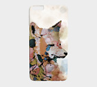 Phone Case Cell cover for Iphone Samsung Galaxy Fox 1 animal art by L.Dumas
