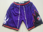 Toronto Raptors Vintage Basketball Shorts Pants Men's NWT Stitched