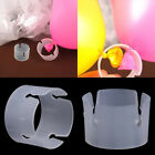 50pcs Balloon Arch Stand Connectors Clip Ring Buckle Wedding Birthday Decor U S