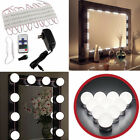 Vanity LED Mirror Dressing Light Kit Makeup Hollywood Dimmable Bulb USA Shipping