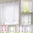 Decorative Curtain Tie Up Shade Window Panel for Living Room