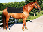 BLACK BACK ON TRACK PAIN RELIEF BACK WARMER, ROYAL, FOR HORSES